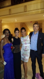Director Amma Asante, Star Gugu Mbatha Raw, me & Damian