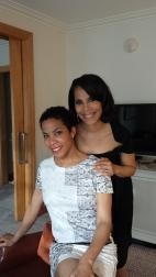 Lynn and Pelo Pelo Producer & my sister Tracy Grant